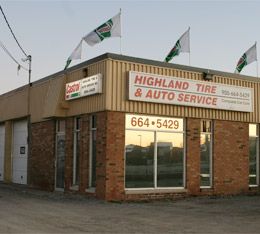 highland tire and automotive fleet services
